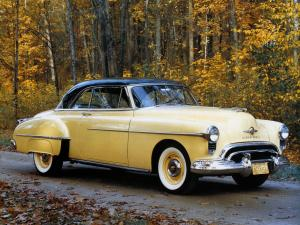 Oldsmobile Futuramic 88 Holiday Coupe 1950 года