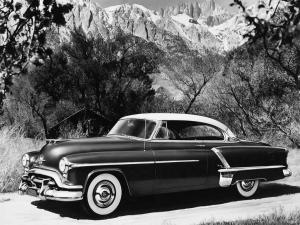 Oldsmobile Deluxe 98 Holiday Coupe 1952 года