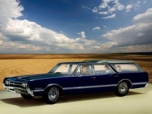 1966 Oldsmobile Vista Cruiser Custom