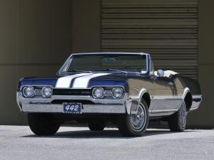 1967 Oldsmobile Cutlass 442 Convertible