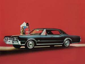 1967 Oldsmobile Cutlass Supreme Holiday Sedan