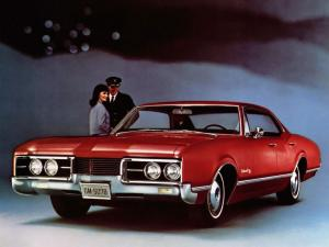 1967 Oldsmobile Delmont 88 Holiday Sedan