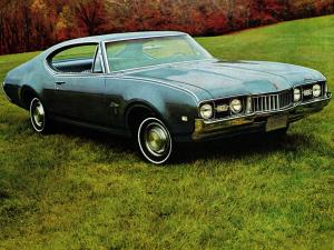 Oldsmobile Cutlass S Holiday Coupe 1968 года