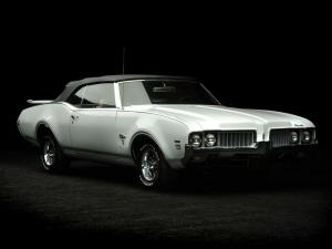 Oldsmobile Cutlass W-31 Convertible 1969 года