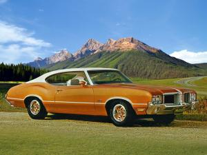 1971 Oldsmobile 442 Holiday Coupe