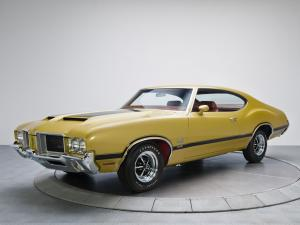 1971 Oldsmobile 442 W-30 Holiday Coupe