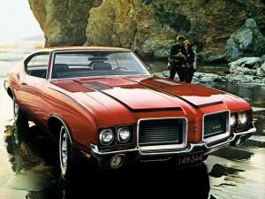 1972 Oldsmobile Cutlass 442 W-29 Hardtop Coupe
