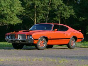 Oldsmobile Cutlass 442 W-30 Hardtop Coupe 1972 года