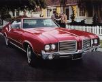 Oldsmobile Cutlass S Holiday Coupe 1972 года