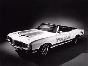 1972 Oldsmobile Cutlass Supreme Convertible Indy 500 Pace Car by Hurst