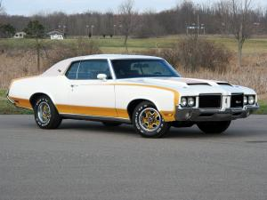 Oldsmobile Cutlass Supreme Hardtop Coupe Indy 500 Pace Car by Hurst 1972 года