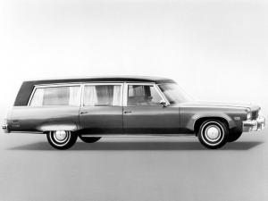 Oldsmobile 98 Cotington Funeral Car by Cotner-Bevington 1975 года