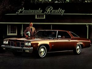 Oldsmobile Delta 88 Hardtop Coupe 1975 года