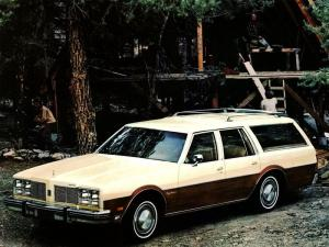 Oldsmobile Custom Cruiser 1977 года