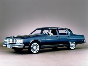 1981 Oldsmobile 98 Regency Brougham Sedan