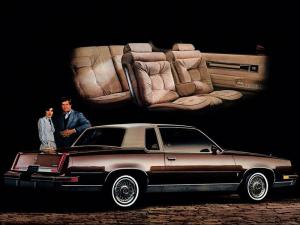 Oldsmobile Cutlass Supreme Brougham Coupe 1981 года