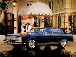 Oldsmobile Ninety-Eight Regency Brougham Sedan