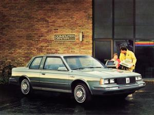 1984 Oldsmobile Cutlass Ciera Brougham Coupe