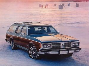 Oldsmobile Custom Cruiser 1986 года