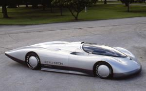 Oldsmobile Aerotech I Long Tail Concept 1987 года