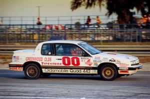 Oldsmobile Cutlass Calais Quad 442 Coupe Race Car '1990