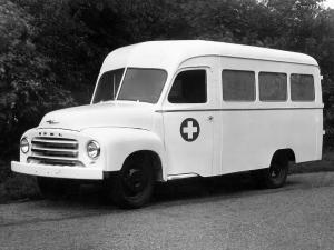 Opel Blitz 1.75t Ambulance by Renova 1952 года