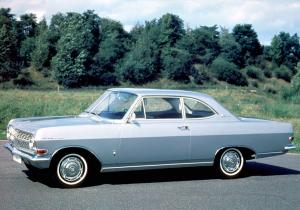 1963 Opel Rekord Coupe