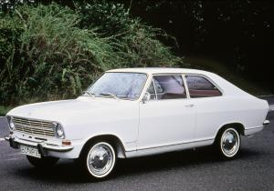 Opel Kadett LS 2-Door Sedan 1967 года