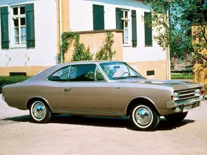 Opel Rekord Coupe 1967 года