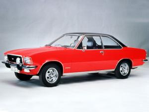 Opel Commodore GS-E 1972 года