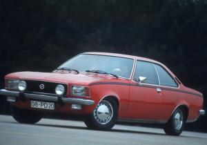 1972 Opel Rekord Sprint Coupe