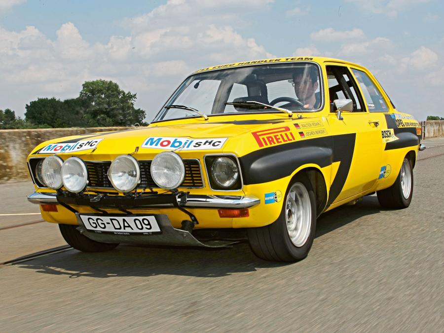 Opel Ascona 1.9 SR Rally Version