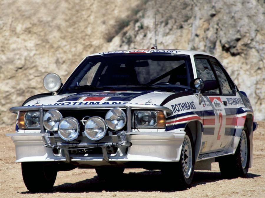 Opel Ascona 400 Rally Version