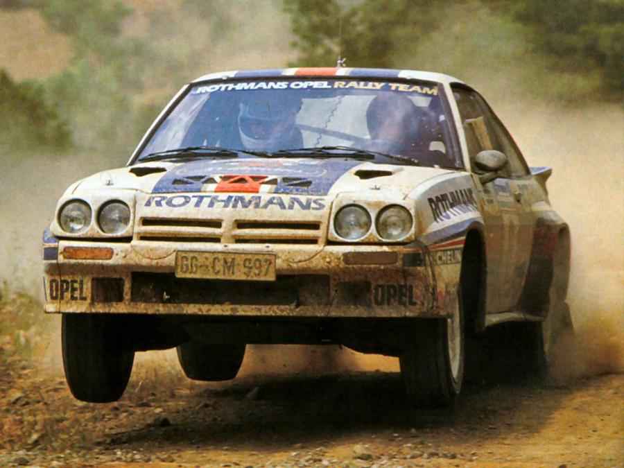 Opel Manta 400 Group B Rally Car