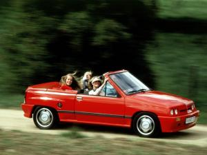 Opel Corsa Spider GL by Irmscher 1986 года