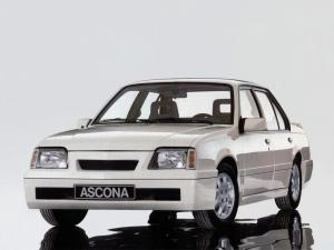 1987 Opel Ascona Sprint by Irmscher