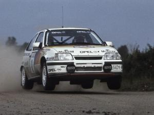 1988 Opel Kadett GSi Group A Rallye Car