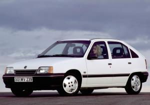 Opel Kadett CS 5-Door 1989 года