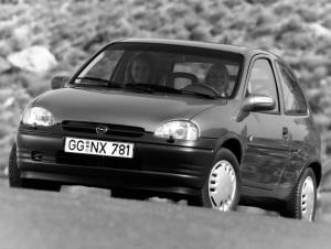 Opel Corsa Joy 3-Door 1993 года