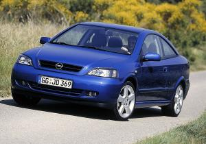 Opel Astra Coupe 2002 года