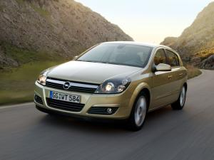 Opel Astra Hatchback 2004 года