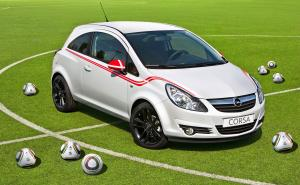 2010 Opel Corsa World Cup Soccer Flag Packs
