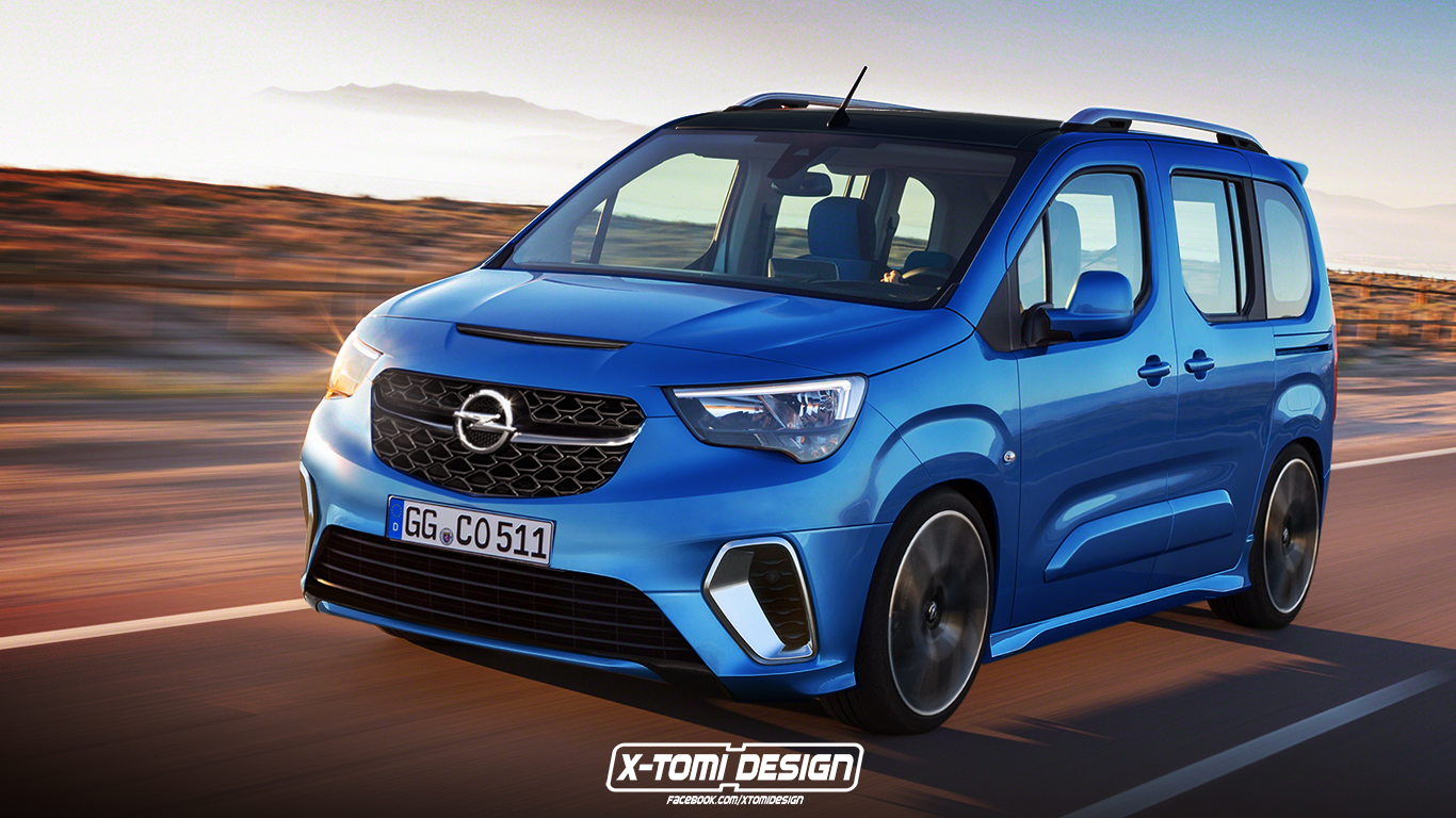 Opel Combo OPC by X-Tomi Design