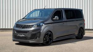2020 Opel Zafira Life is 3 Black Phantom by Irmscher
