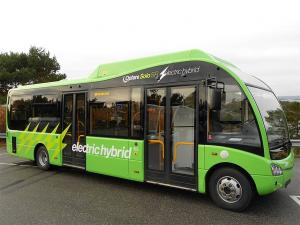 2013 Optare Solo SR Electric Hybrid Bus