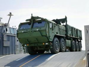 Oshkosh LVSR Cargo Vehicle 2008 года