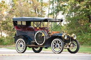 Packard Model 30 7-Passenger Touring 1908 года