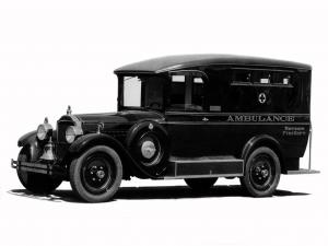 1927 Packard Six Comissary Ambulance