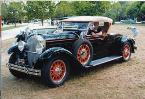 Packard 640 Custom Eight Runabout 1929 года