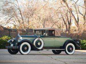 Packard Custom Eight Convertible Coupe 1929 года
